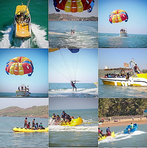 Goa's Adventure water sports & activities Goa's Adventure water sports