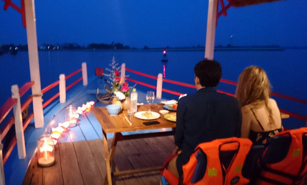 candle light dinner in goa