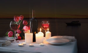 A Romantic Candle Light Dinner in Goa